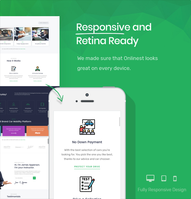 DreeveX – Driving School WordPress Theme - 6